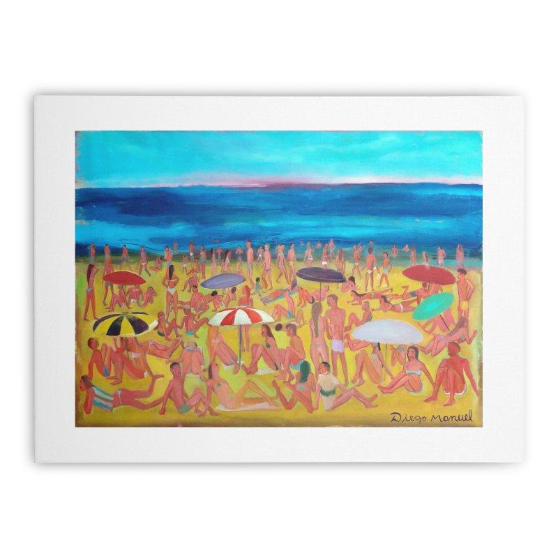 Playa Grande 2 Home Stretched Canvas by Diego Manuel Rodriguez Artist Shop