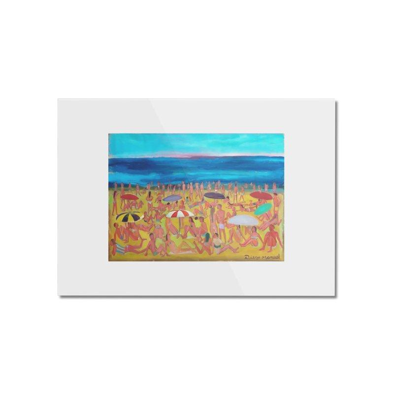 Playa Grande 2 Home Mounted Acrylic Print by Diego Manuel Rodriguez Artist Shop