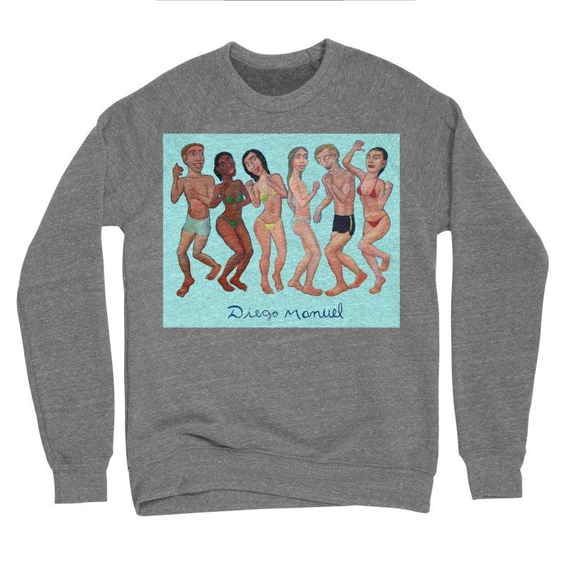 Beach party 5 Women's Sponge Fleece Sweatshirt by diegomanuel's Artist Shop