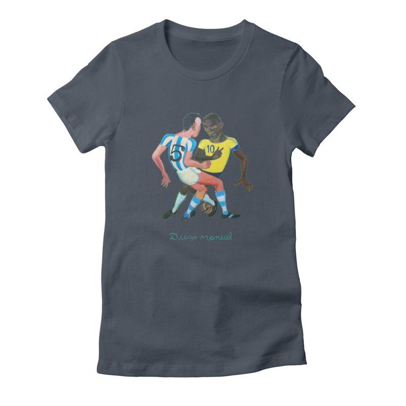 Brasil Argentina Women's T-Shirt by Diego Manuel Rodriguez Artist Shop