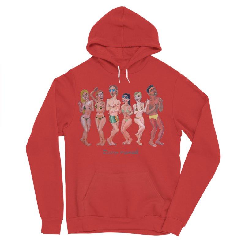 Beach party 6 Women's Sponge Fleece Pullover Hoody by diegomanuel's Artist Shop