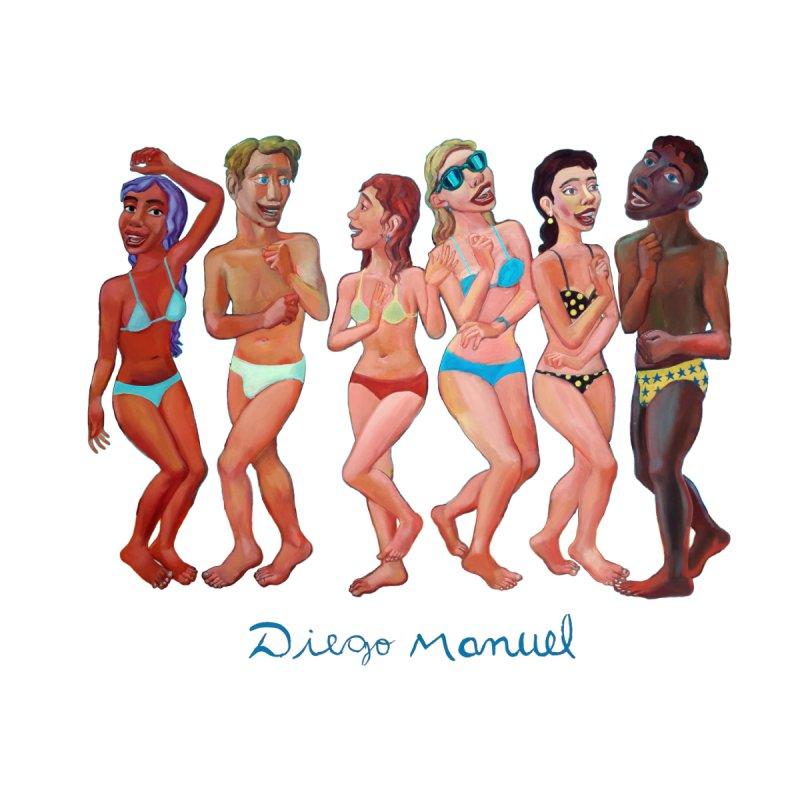 Beach party 2 Women's Zip-Up Hoody by diegomanuel's Artist Shop