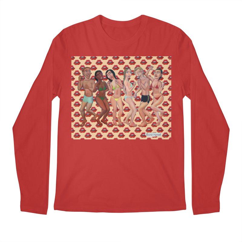 Beach party 5 Men's Regular Longsleeve T-Shirt by diegomanuel's Artist Shop