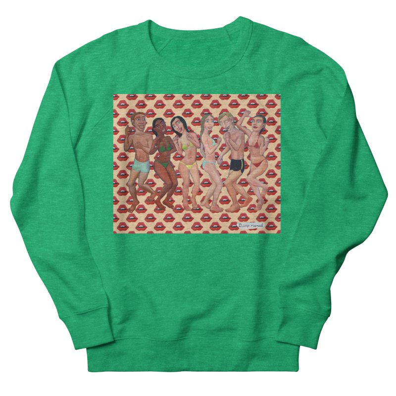 Beach party 5 Men's French Terry Sweatshirt by diegomanuel's Artist Shop