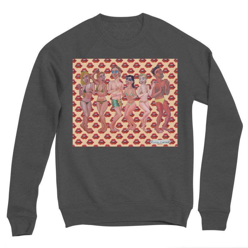 Beach party 6 Men's Sponge Fleece Sweatshirt by diegomanuel's Artist Shop