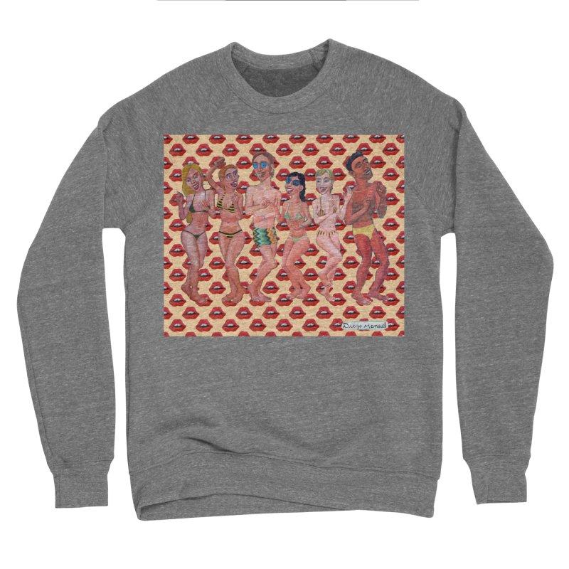 Beach party 6 Women's Sponge Fleece Sweatshirt by diegomanuel's Artist Shop