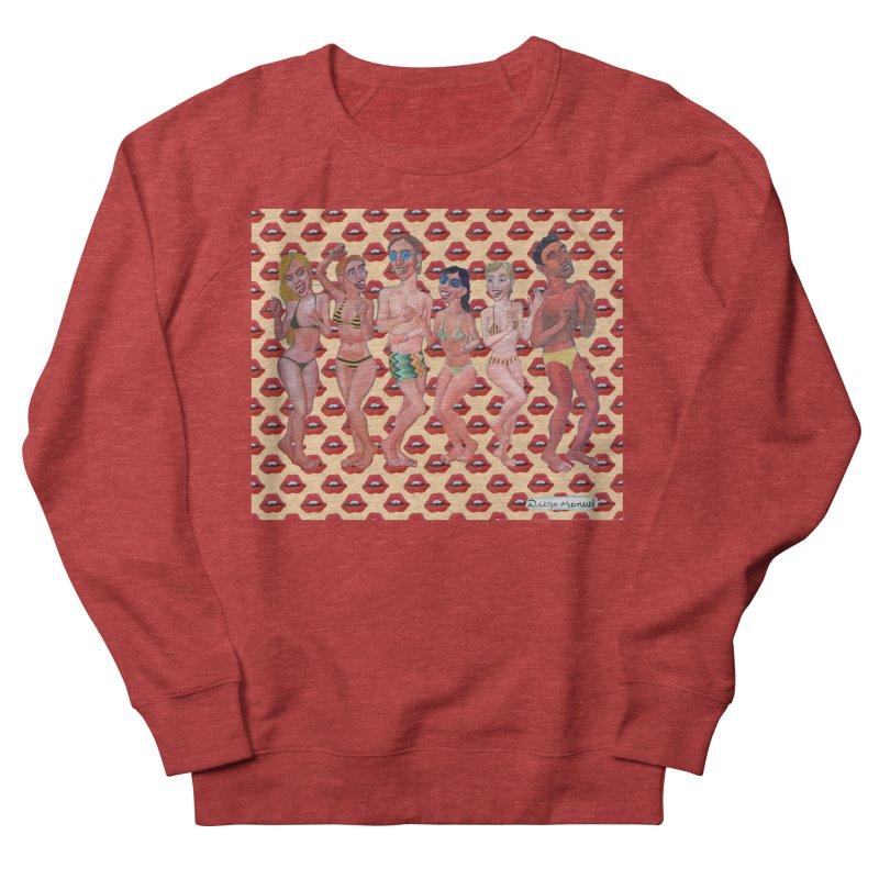 Beach party 6 Women's French Terry Sweatshirt by diegomanuel's Artist Shop