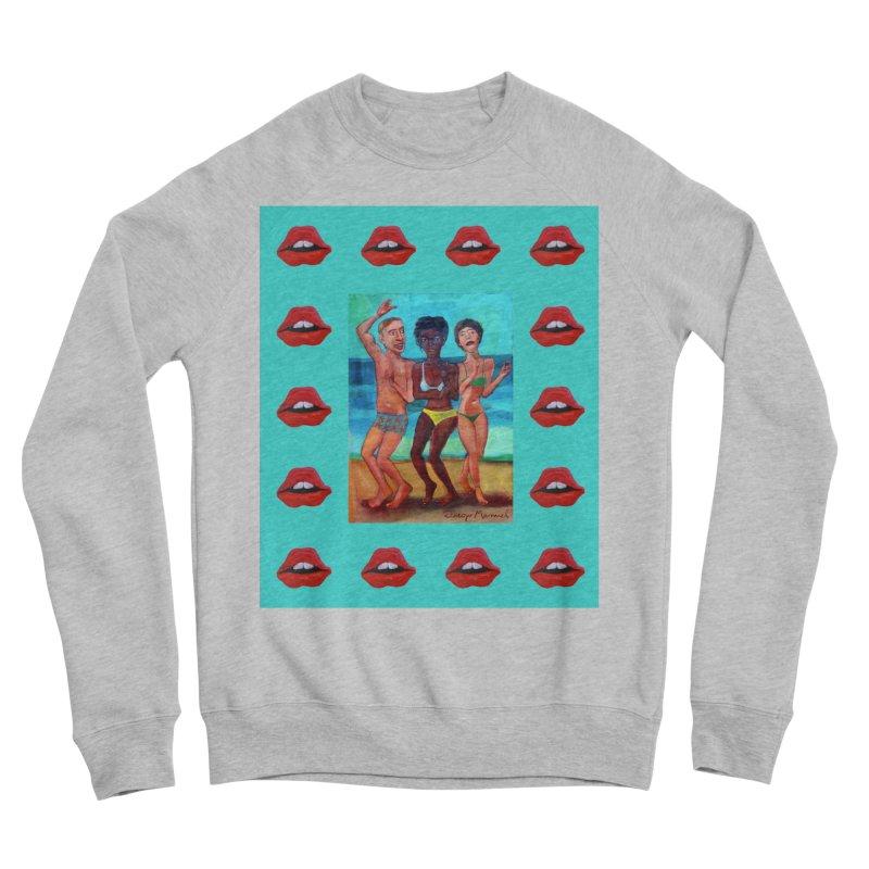 Dancing on the beach 3 Women's Sponge Fleece Sweatshirt by diegomanuel's Artist Shop