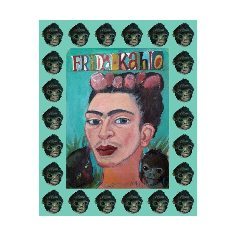 Frida 2 Women's Zip-Up Hoody by Diego Manuel Rodriguez Artist Shop