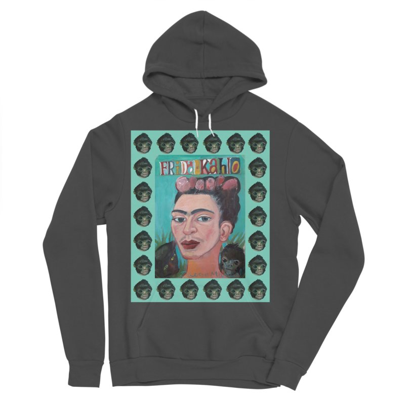 Frida 2 Men's Sponge Fleece Pullover Hoody by diegomanuel's Artist Shop