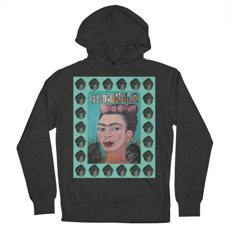 Frida 2 Men's French Terry Pullover Hoody by diegomanuel's Artist Shop