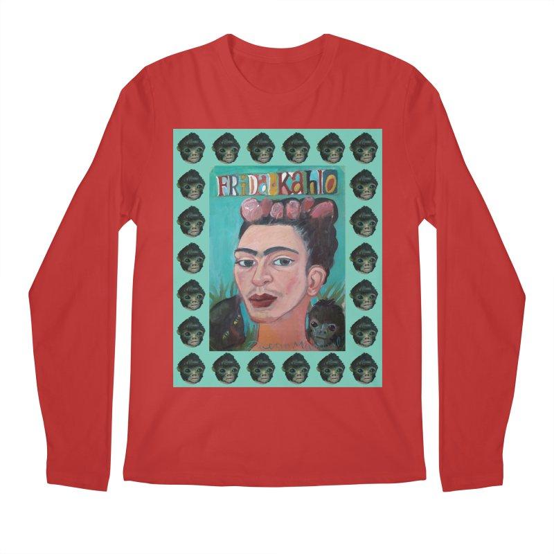 Frida 2 Men's Regular Longsleeve T-Shirt by diegomanuel's Artist Shop