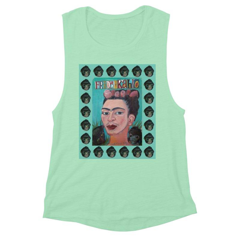 Frida 2 Women's Muscle Tank by diegomanuel's Artist Shop