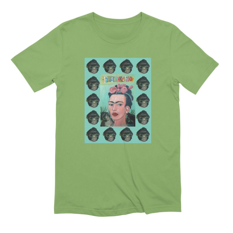 Frida 1 Men's Extra Soft T-Shirt by diegomanuel's Artist Shop