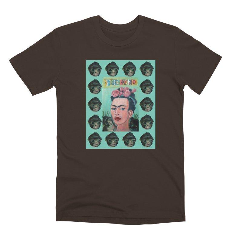 Frida 1 Men's Premium T-Shirt by diegomanuel's Artist Shop