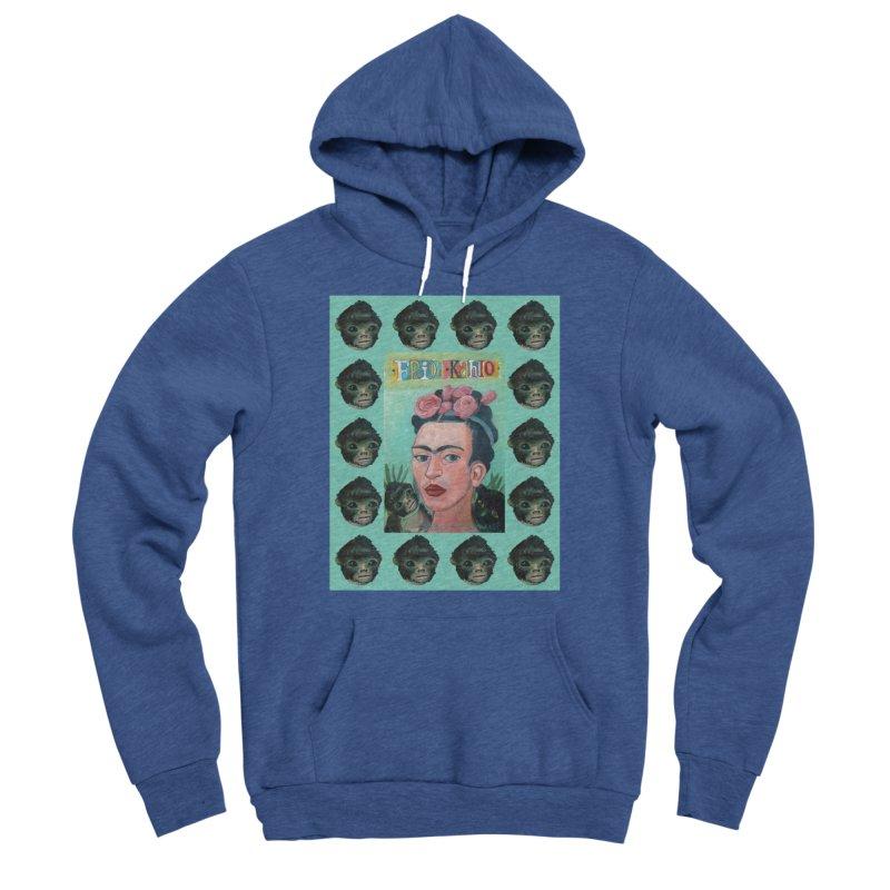 Frida 1 Women's Sponge Fleece Pullover Hoody by diegomanuel's Artist Shop