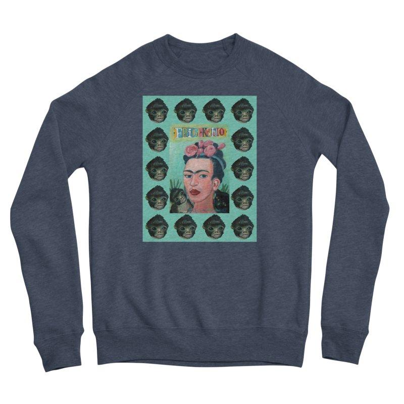 Frida 1 Women's Sponge Fleece Sweatshirt by diegomanuel's Artist Shop