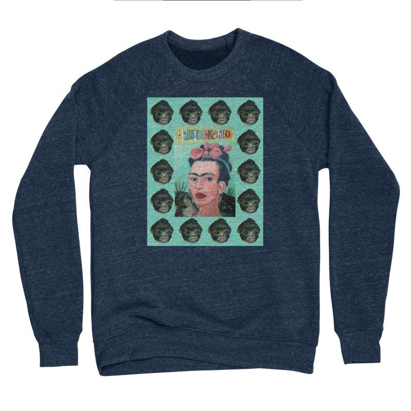Frida 1 Men's Sponge Fleece Sweatshirt by diegomanuel's Artist Shop