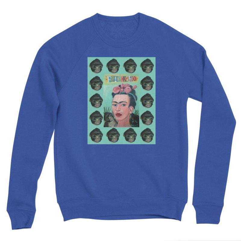 Frida 1 Men's Sweatshirt by diegomanuel's Artist Shop