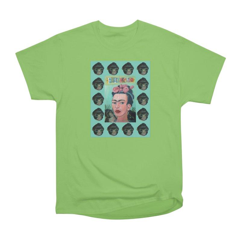 Frida 1 Women's Heavyweight Unisex T-Shirt by diegomanuel's Artist Shop