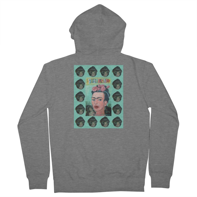 Frida 1 Women's Zip-Up Hoody by Diego Manuel Rodriguez Artist Shop