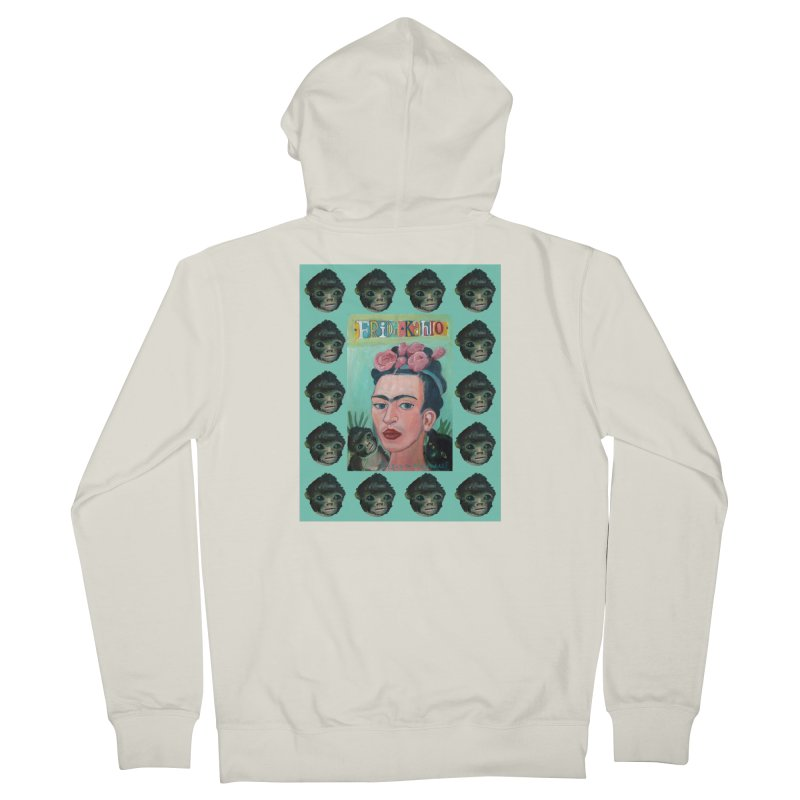 Frida 1 Men's Zip-Up Hoody by Diego Manuel Rodriguez Artist Shop