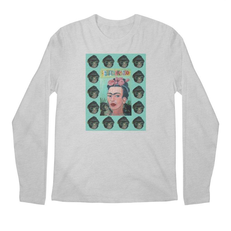 Frida 1 Men's Regular Longsleeve T-Shirt by diegomanuel's Artist Shop