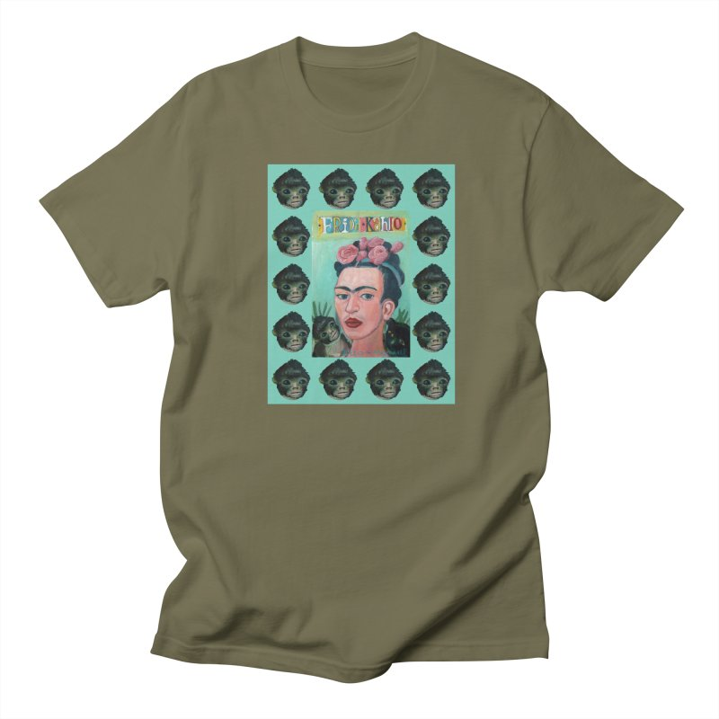 Frida 1 Men's T-Shirt by Diego Manuel Rodriguez Artist Shop