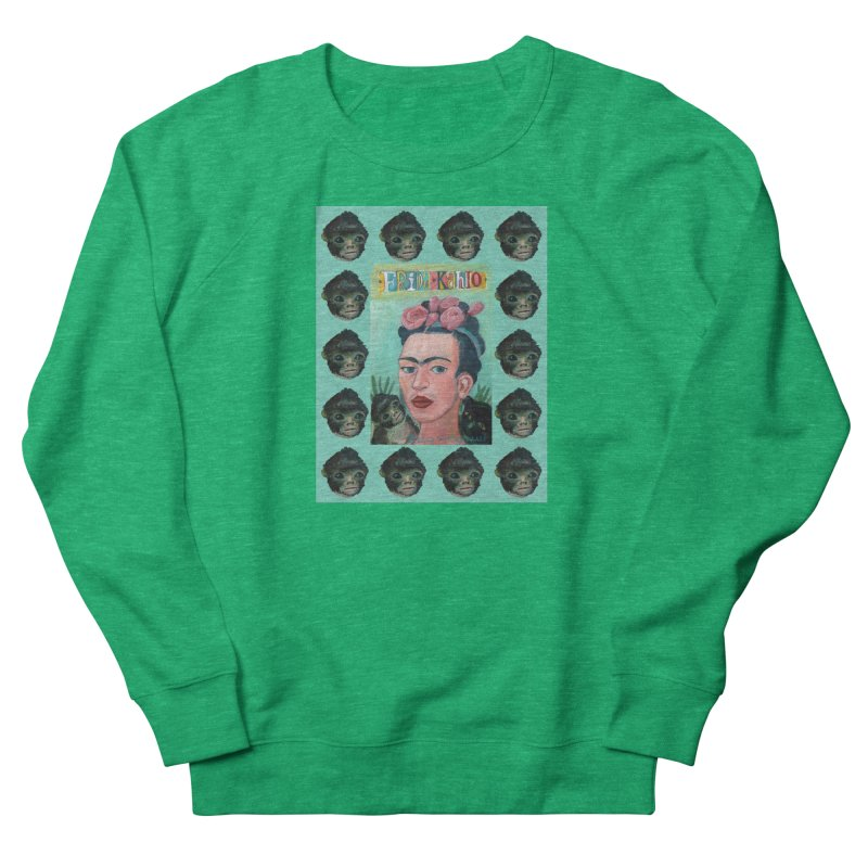 Frida 1 Women's Sweatshirt by Diego Manuel Rodriguez Artist Shop