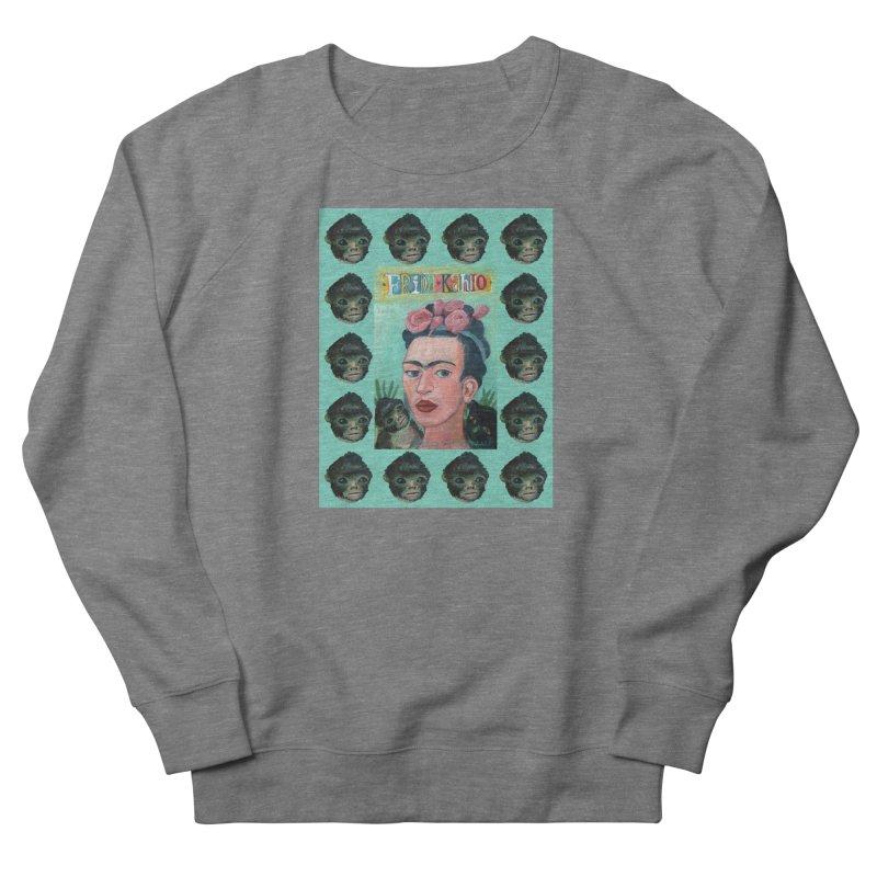 Frida 1 Men's French Terry Sweatshirt by diegomanuel's Artist Shop