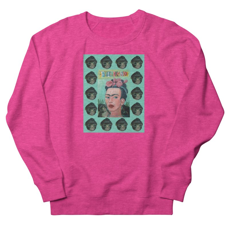 Frida 1 Men's French Terry Sweatshirt by diegomanuel's Artist Shop