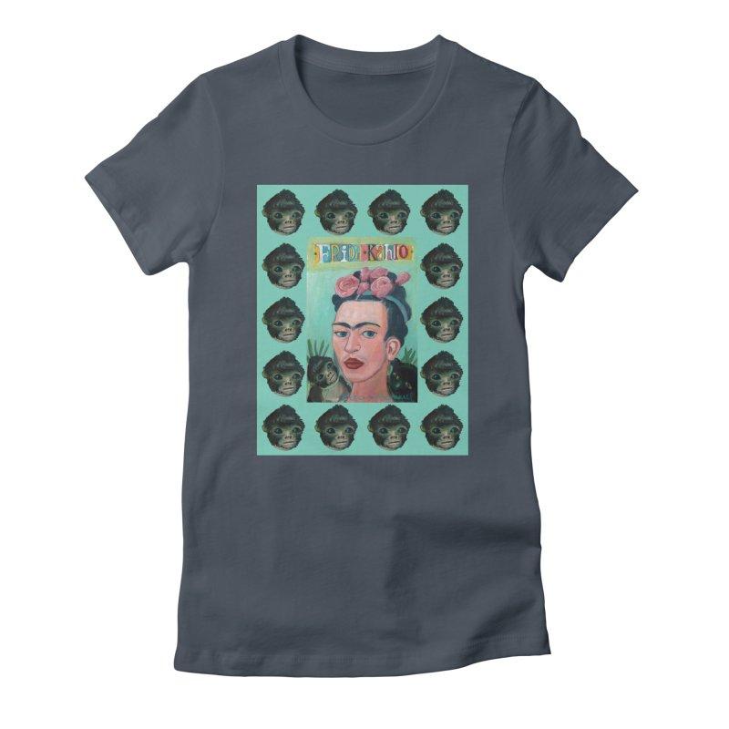 Frida 1 Women's T-Shirt by Diego Manuel Rodriguez Artist Shop