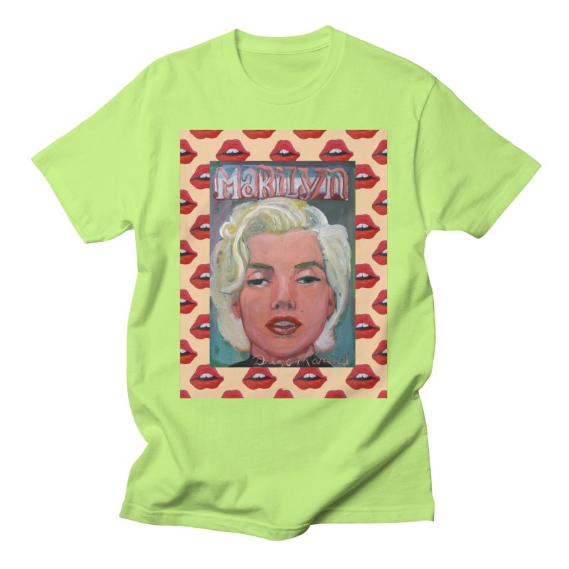 Marilyn Men's T-Shirt by Diego Manuel Rodriguez Artist Shop