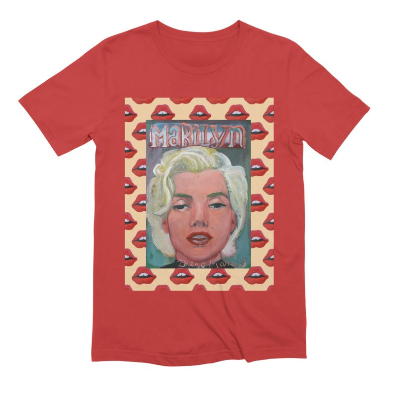 Marilyn Men's Extra Soft T-Shirt by diegomanuel's Artist Shop