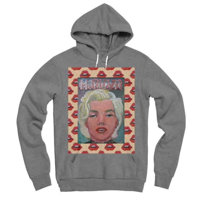 Marilyn Men's Sponge Fleece Pullover Hoody by diegomanuel's Artist Shop