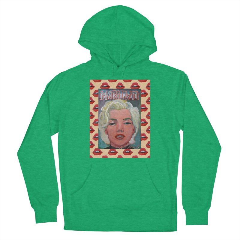 Marilyn Men's Pullover Hoody by Diego Manuel Rodriguez Artist Shop