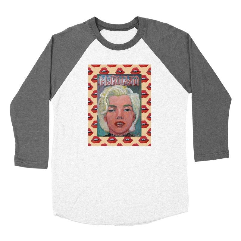 Marilyn Women's Longsleeve T-Shirt by Diego Manuel Rodriguez Artist Shop