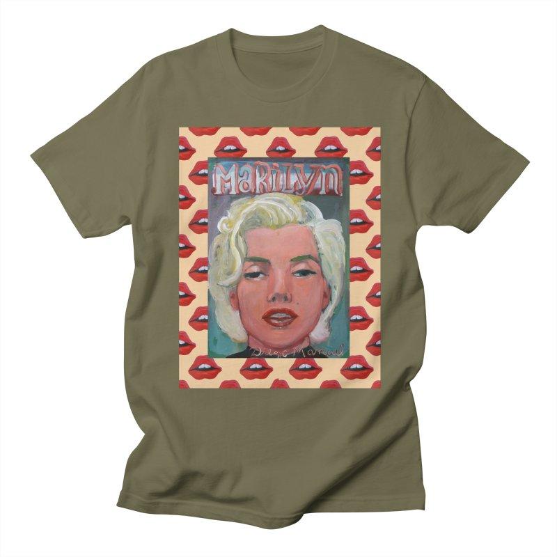 Marilyn Women's Regular Unisex T-Shirt by diegomanuel's Artist Shop