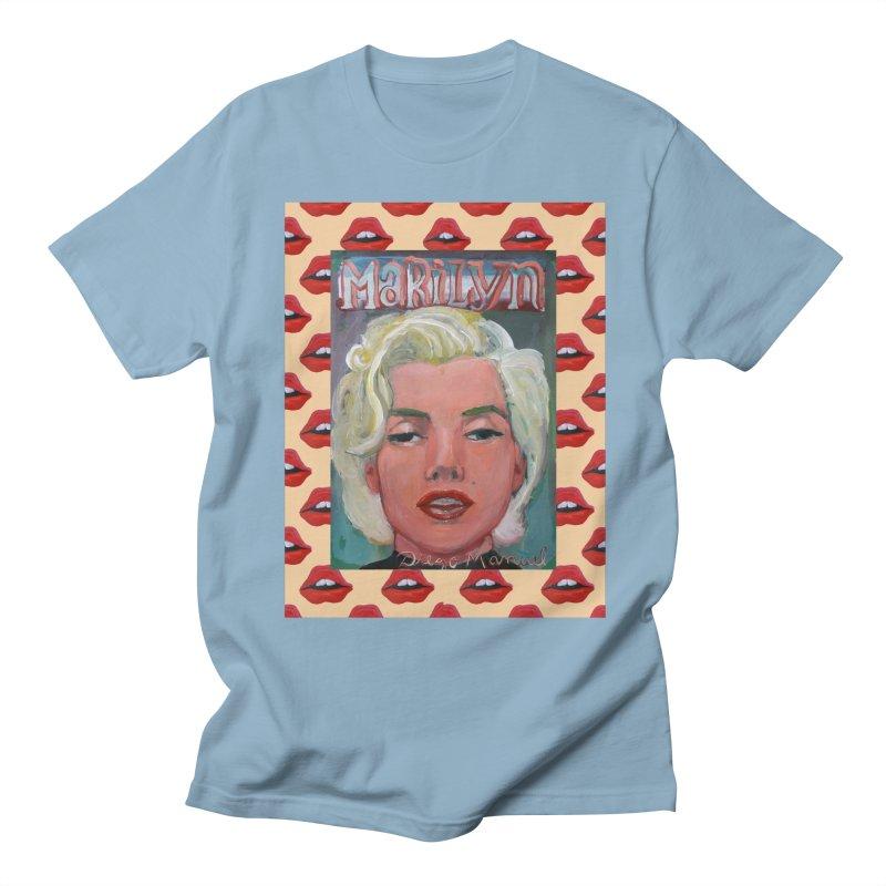 Marilyn Men's Regular T-Shirt by diegomanuel's Artist Shop