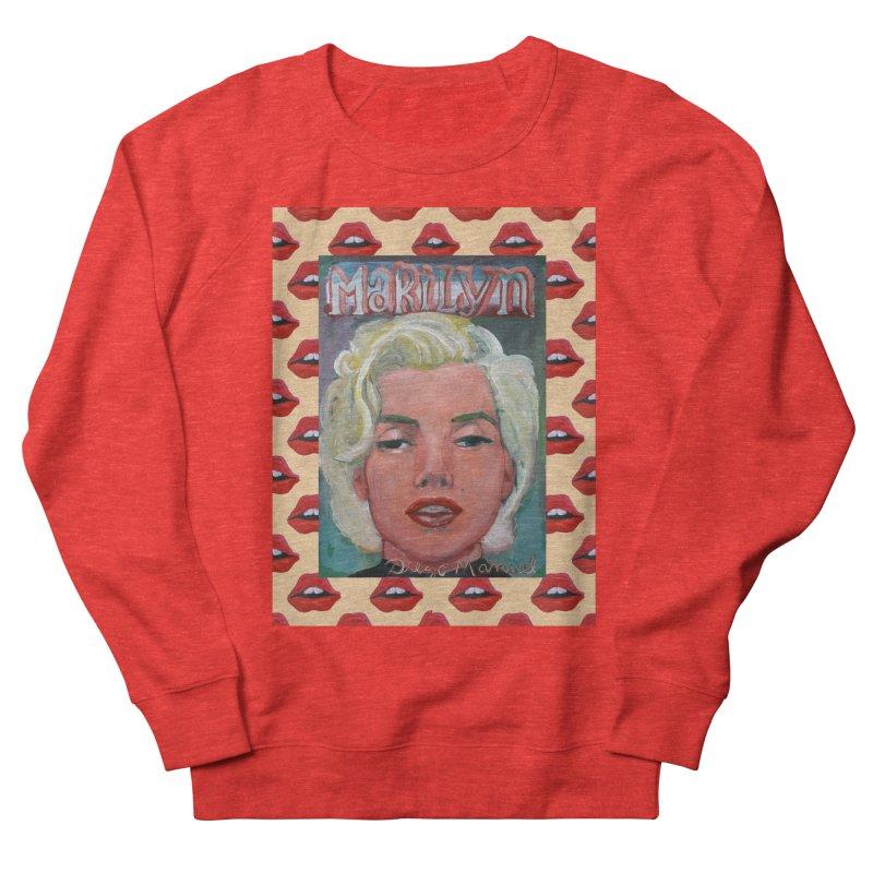 Marilyn Men's Sweatshirt by Diego Manuel Rodriguez Artist Shop