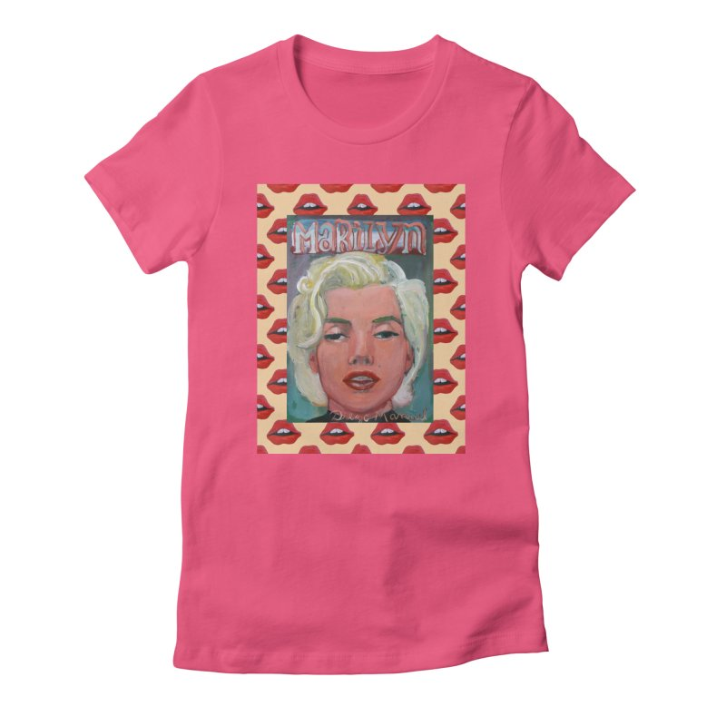 Marilyn Women's T-Shirt by Diego Manuel Rodriguez Artist Shop