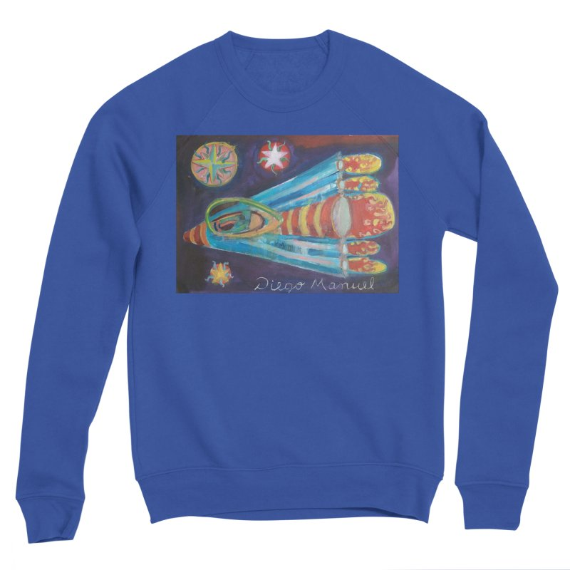 spaceship Men's Sweatshirt by diegomanuel's Artist Shop