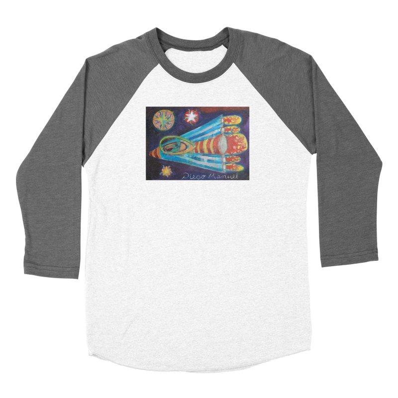 spaceship Women's Longsleeve T-Shirt by Diego Manuel Rodriguez Artist Shop