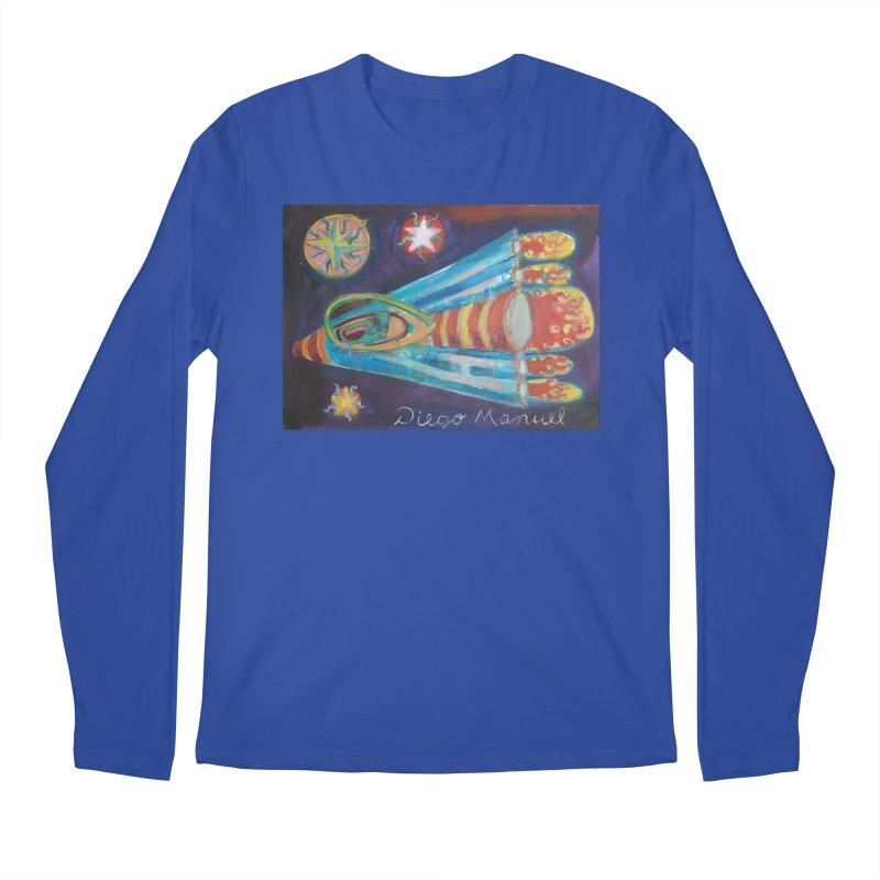 spaceship Men's Regular Longsleeve T-Shirt by diegomanuel's Artist Shop
