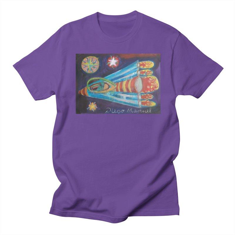 spaceship Women's Regular Unisex T-Shirt by diegomanuel's Artist Shop