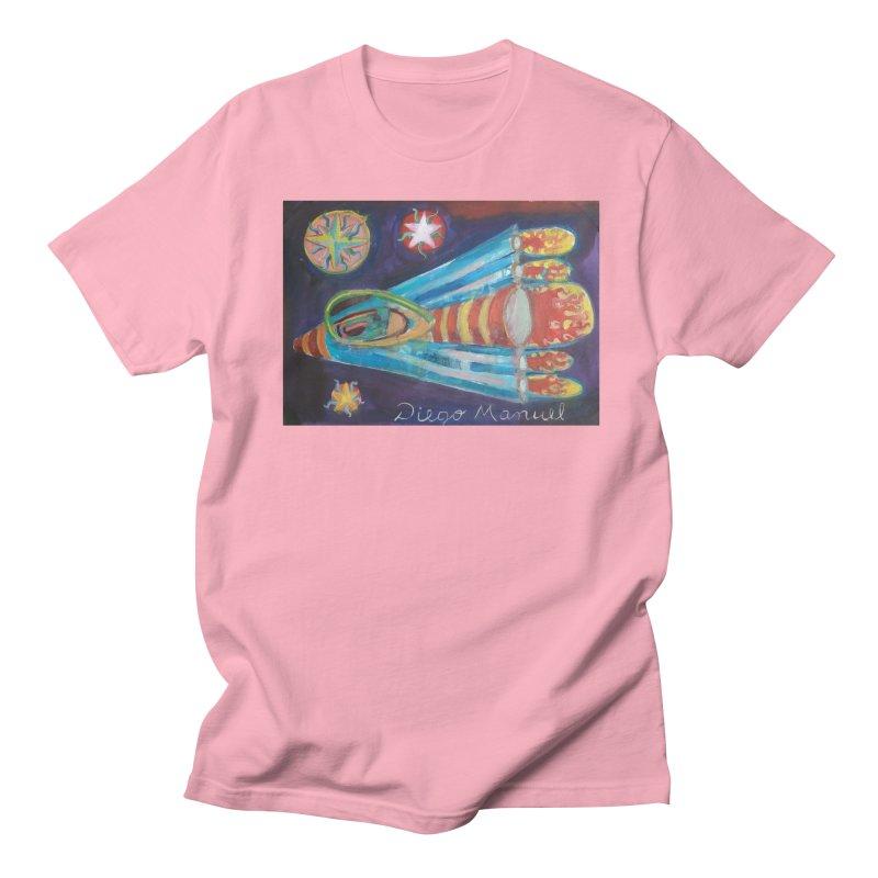 spaceship Men's Regular T-Shirt by diegomanuel's Artist Shop