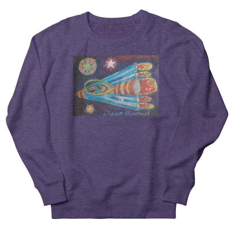 spaceship Women's French Terry Sweatshirt by diegomanuel's Artist Shop