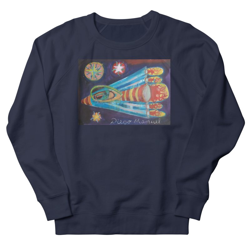 spaceship Women's French Terry Sweatshirt by diegomanuel's Artist Shop