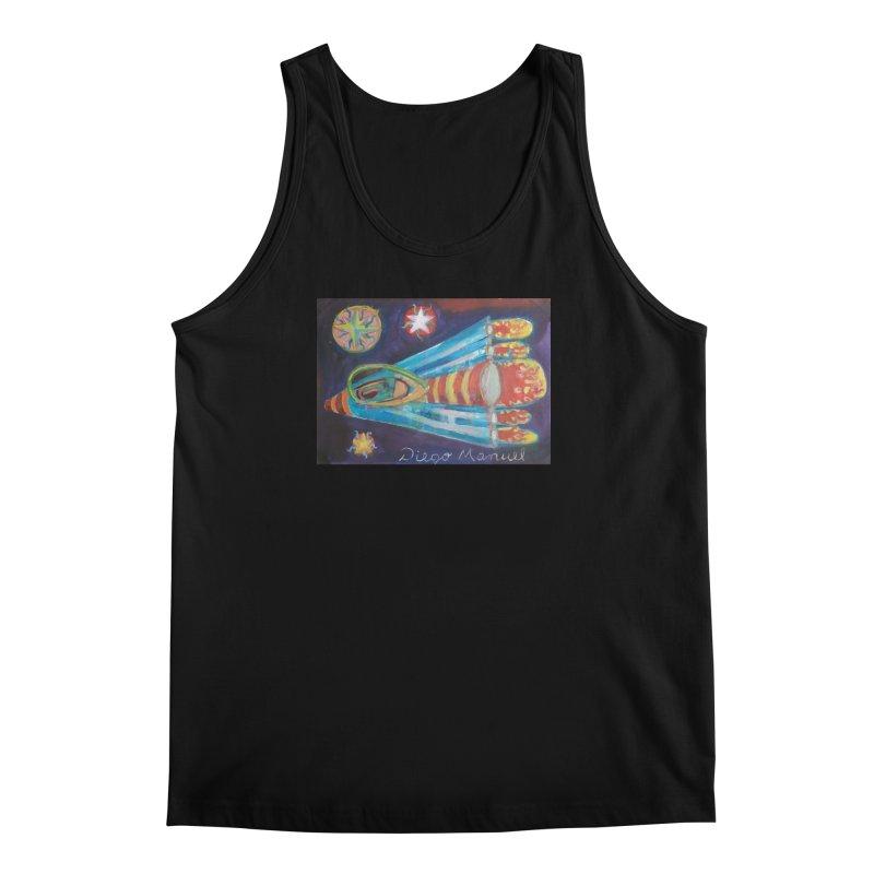 spaceship Men's Regular Tank by diegomanuel's Artist Shop