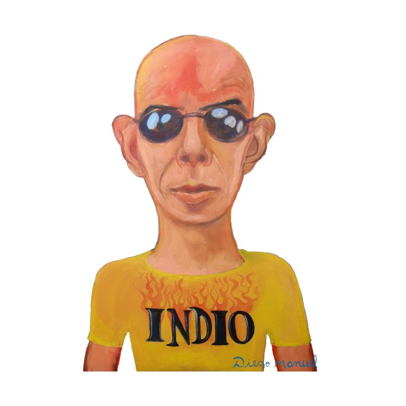 Indio rockstar Men's T-Shirt by diegomanuel's Artist Shop